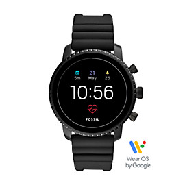 Gen 4 Smartwatch - Q Explorist HR Black Silicone