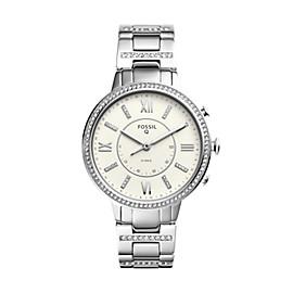 Damen Hybrid Smartwatch Virginia - Edelstahl