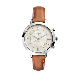 Hybrid Smartwatch - Jacqueline Luggage Leather