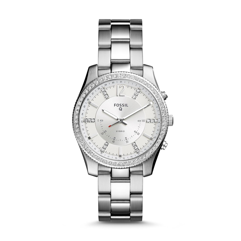 Hybrid Smartwatch - Q Scarlette Stainless Steel - Fossil 3ea1241b10a0