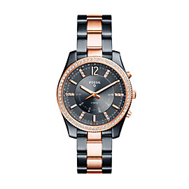 Hybrid Smartwatch - Q Scarlette Two-Tone Stainless Steel