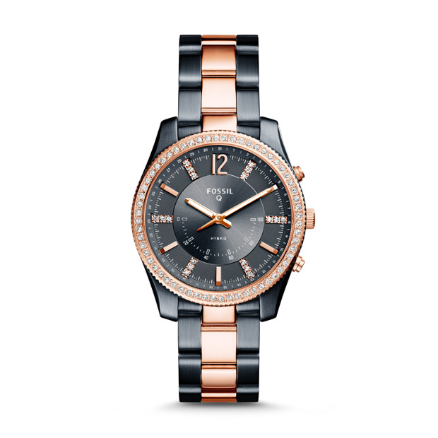67e232782 Hybrid Smartwatch - Scarlette Two-Tone Stainless Steel - Fossil