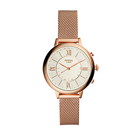 Hybrid Smartwatch – Q Jacqueline Rose-Gold-Tone Stainless Steel