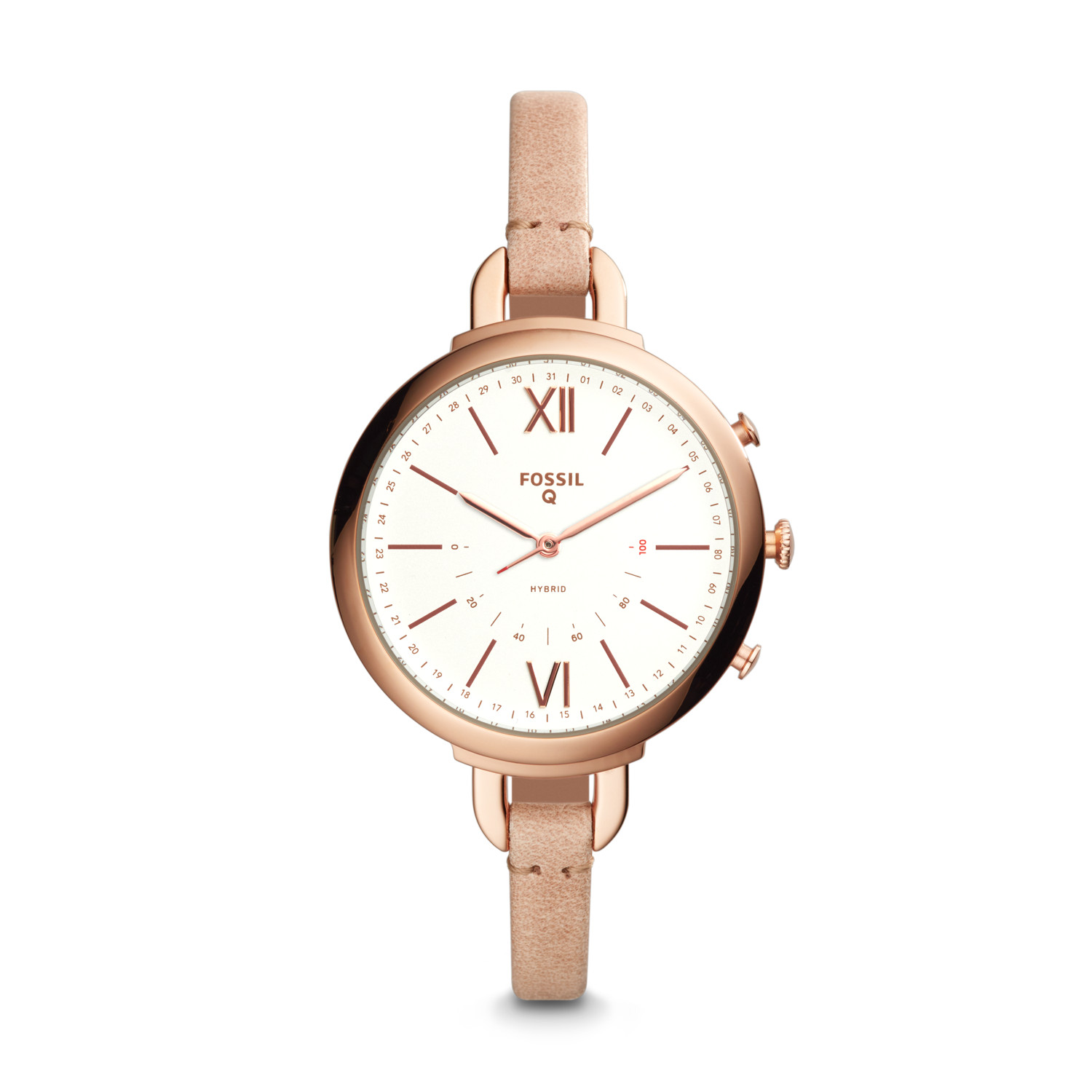 strap watch georgia women leather watches s sand tan fossil youtube
