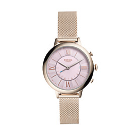 Hybrid Smartwatch – Q Jacqueline Pastel Pink Stainless Steel