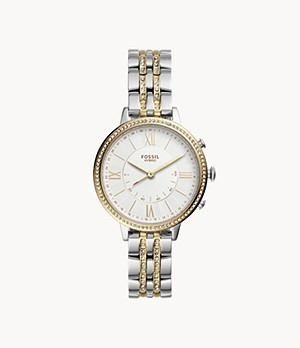 Hybrid Smartwatch Jacqueline Two-Tone Stainless Steel