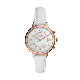 Hybrid Smartwatch - Jacqueline White Leather