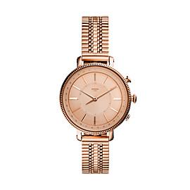 Smartwatch ibrido - Cameron con bracciale in acciaio tonalità oro rosa