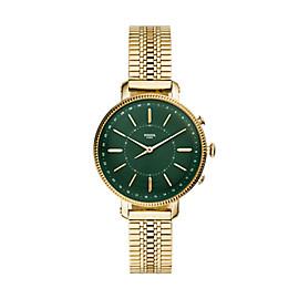 Smartwatch ibrido - Cameron con bracciale in acciaio tonalità oro
