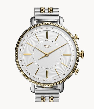 REFURBISHED Hybrid Smartwatch Cameron Two-Tone Gold and Silver Stainless Steel