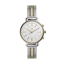 Smartwatch ibrido - Cameron con bracciale in acciaio bicolore tonalità oro e argento