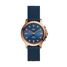 Hybrid Smartwatch FB-01 Navy Silicone