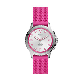 Hybrid Smartwatch FB-01 Hot Pink Silicone