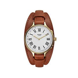 Hybrid Smartwatch Eleanor Luggage Leather