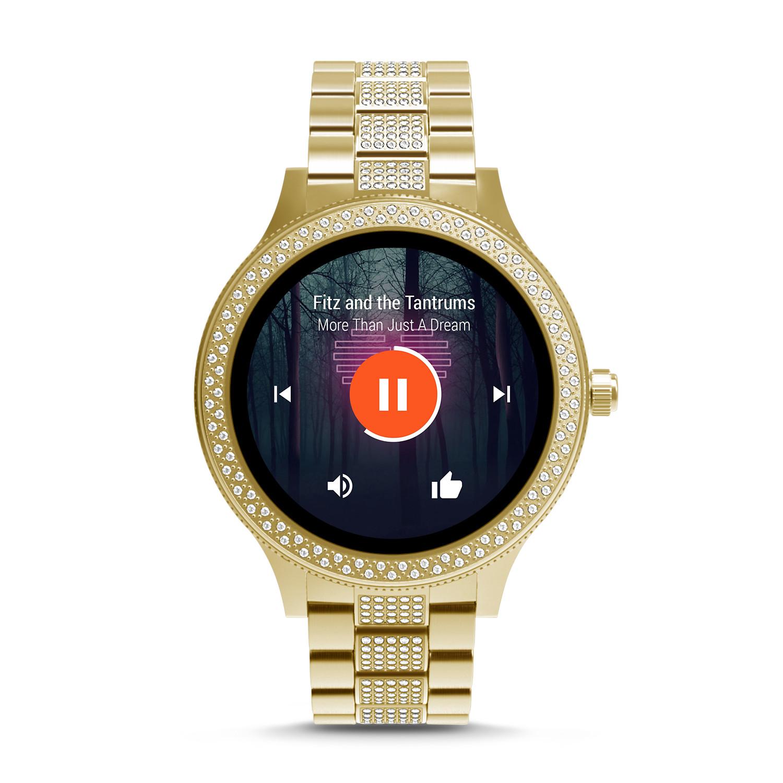 gen 3 smartwatch q venture goldtone stainless steel