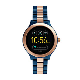 Montre intelligente Gen 3 – Fossil Q Venture en acier inoxydable bicolore rose