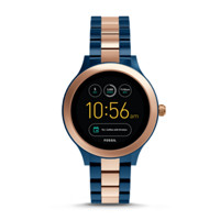 Fossil Q Venture Rose Two-Tone Stainless Steel Gen 3 Smartwatch (FTW6002P)