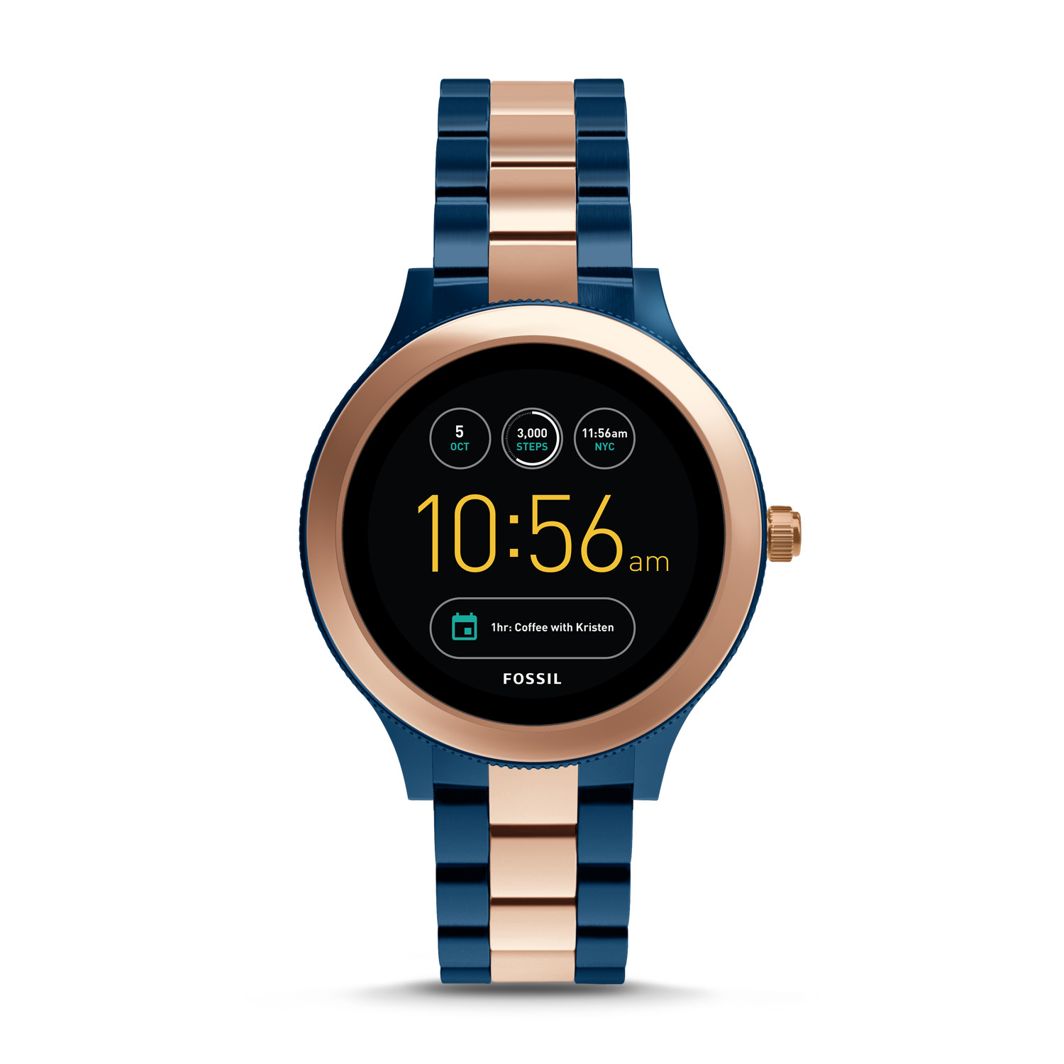 0f87563d7438 Gen 3 Smartwatch - Venture Rose Two-Tone Stainless Steel - Fossil