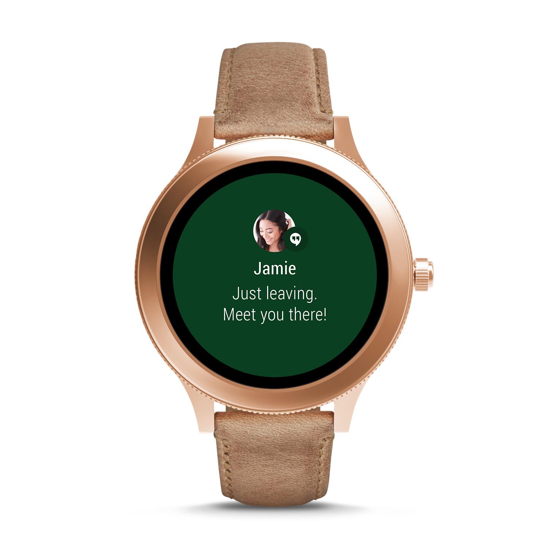 4f9638d136c3 Gen 3 Smartwatch - Venture Sand Leather - Fossil