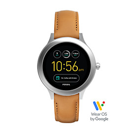 Gen 3 Smartwatch - Q Venture Luggage Leather