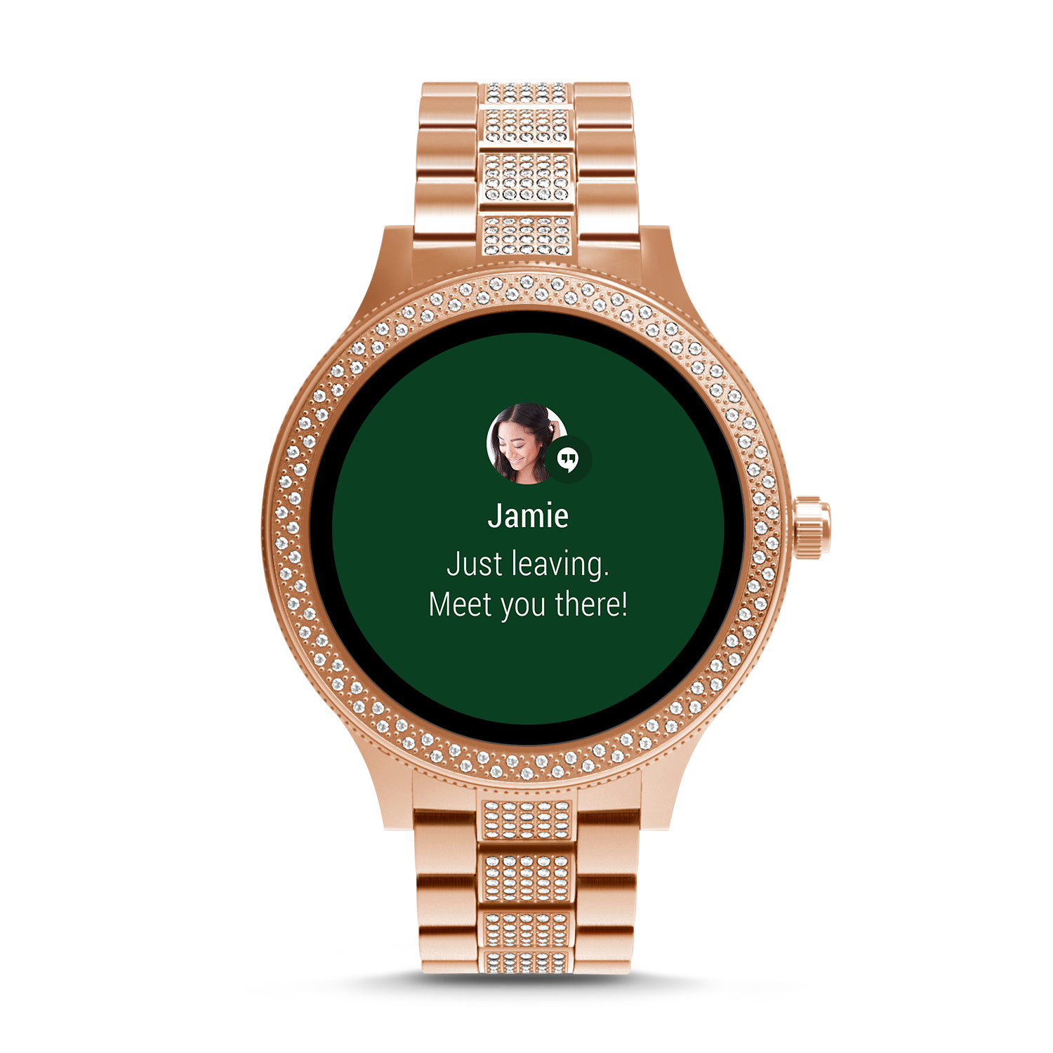 02db2a341059 Gen 3 Smartwatch - Venture Rose Gold-Tone Stainless Steel - Fossil