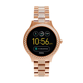 Gen 3 Smartwatch – Q Venture Rose-Gold-Tone Stainless Steel