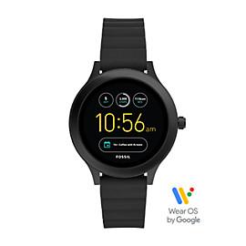 Gen 3 Smartwatch - Q Venture Black Silicone