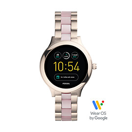 Gen 3 Smartwatch – Q Venture Pink Stainless Steel and Acetate