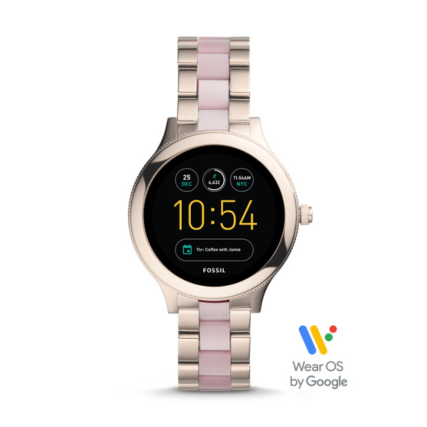 c0f5b65eb Gen 3 Smartwatch - Venture Pink Stainless Steel and Acetate - Fossil