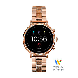 6762bb5380d Gen 4 Smartwatch - Venture HR Rose Gold-Tone Stainless Steel Connected Icon