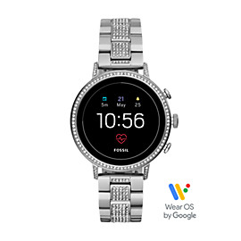 Gen 4 Smartwatch - Q Venture HR Stainless Steel