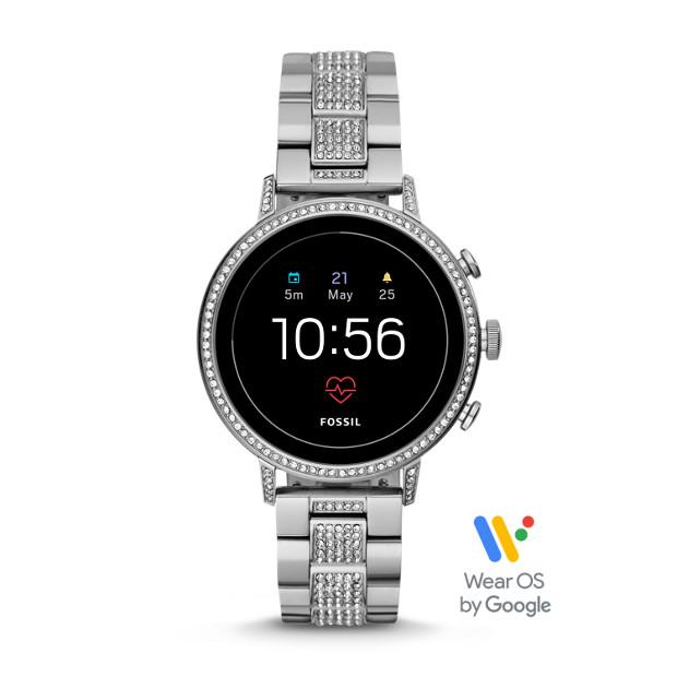 8030c08e1675 Gen 4 Smartwatch - Venture HR Stainless Steel - Fossil