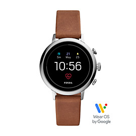 Gen 4 Smartwatch - Q Venture HR Brown Leather
