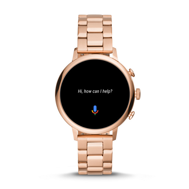 f9945b62 Gen 4 Smartwatch - Venture HR Rose Gold-Tone Stainless Steel - Fossil