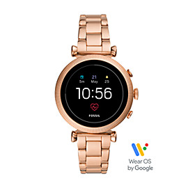 Gen 4 Smartwatch - Sloan HR Rose Gold-Tone Stainless Steel