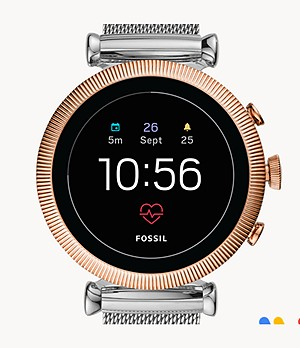 REFURBISHED Gen 4 Smartwatch Sloan HR Stainless Steel Mesh