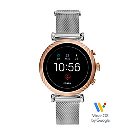 Gen 4 Smartwatch - Sloan HR Stainless Steel Mesh