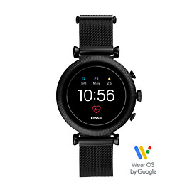 Gen 4 Smartwatch - Sloan HR Black Stainless Steel Mesh