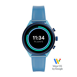 Fossil Sport 41mm Blue Silicone