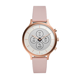 Hybrid Smartwatch HR Charter Blush Silicone