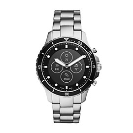 Hybrid Smartwatch HR FB-01 Stainless Steel