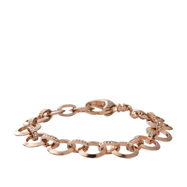 Glitz Charm Starter Bracelet Rose