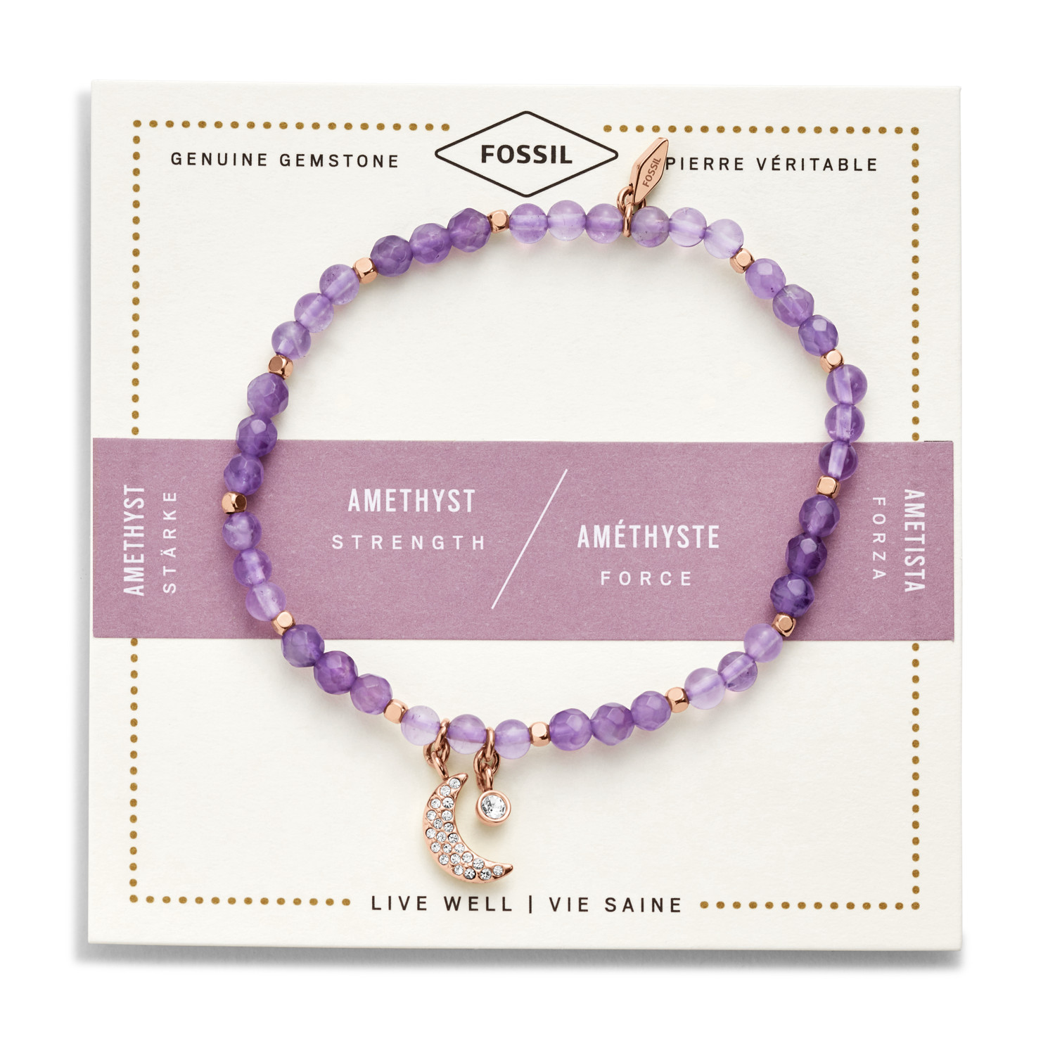 stackable bracelet star teeny in haak purple annie friendship weeny