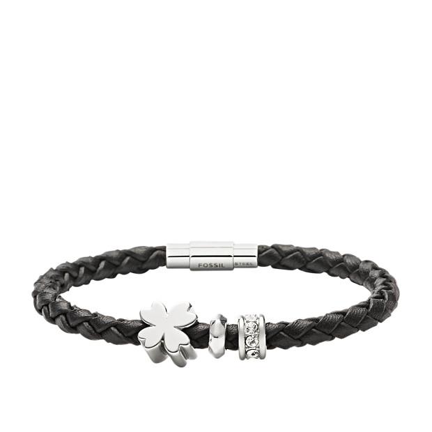 2837c0b938 Damen Charm Armband Leder - Fossil