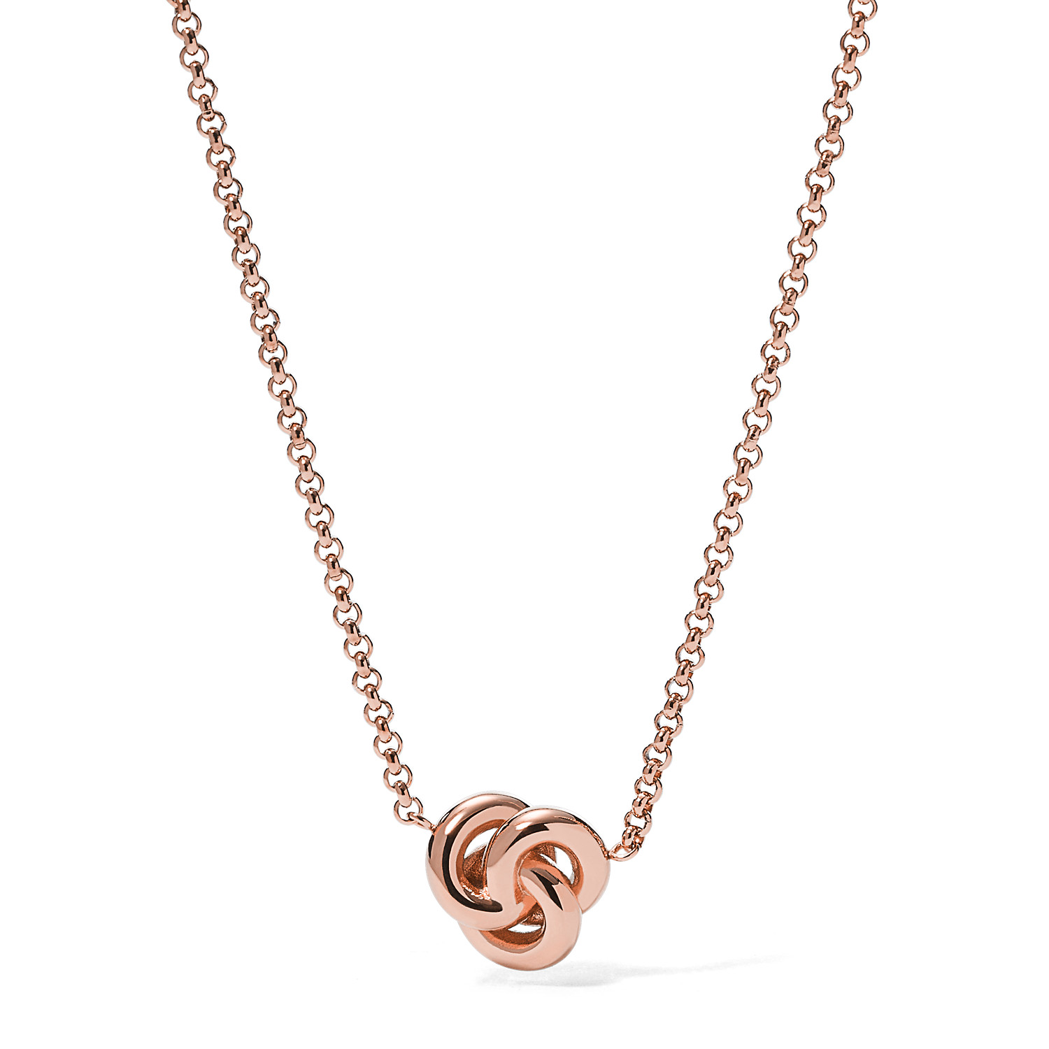 knot zoom pendant small love image
