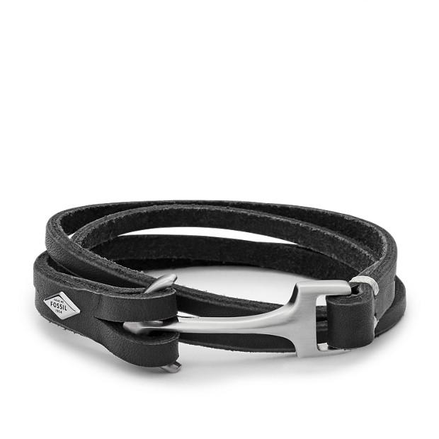 revendeur 0d2da cc1c8 Bracelet ancre - Fossil