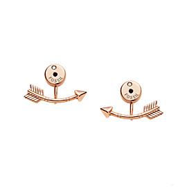Arrow Rose Gold-Tone Ear Jackets