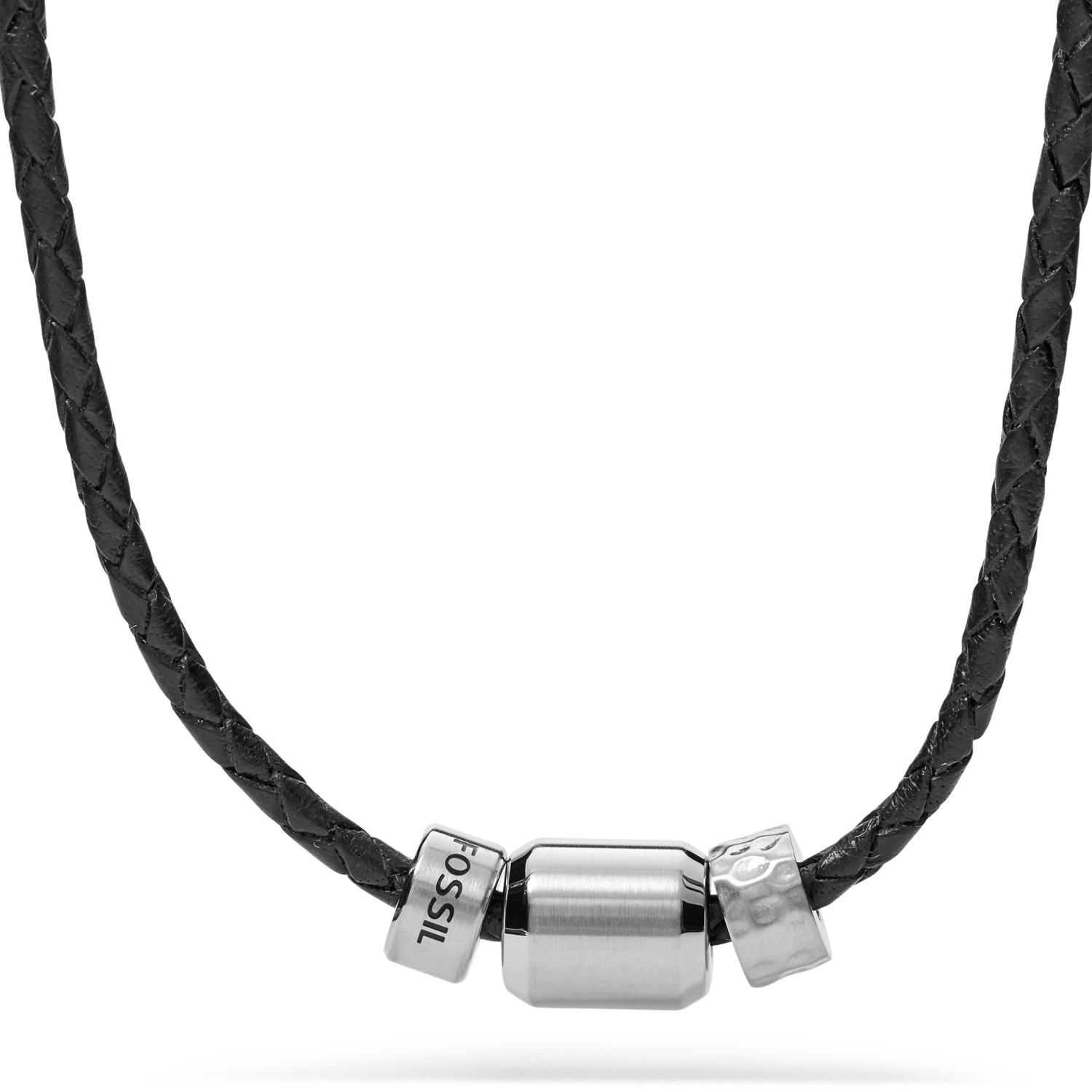 gents necklace leather necklaces from black unique image paul jewellery co