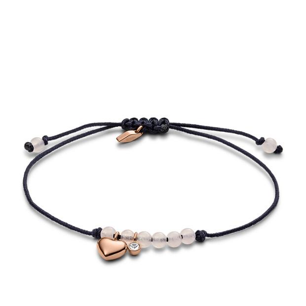 Cœur Bracelet Cœur Semi Bracelet Semi Fossil Précieux 4qc3R5AjL