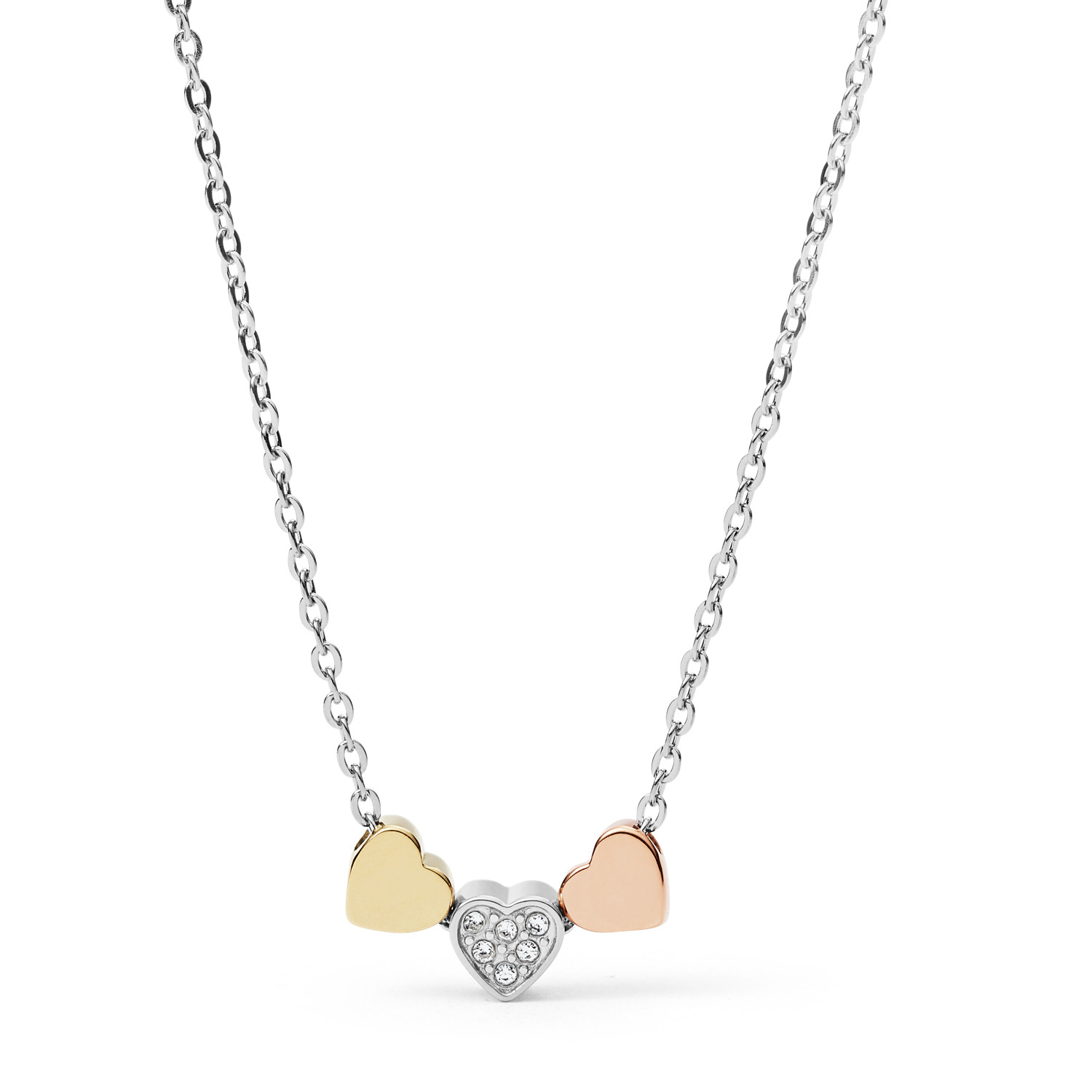 fashion index mini jewelry tous gold necklace w heart icon